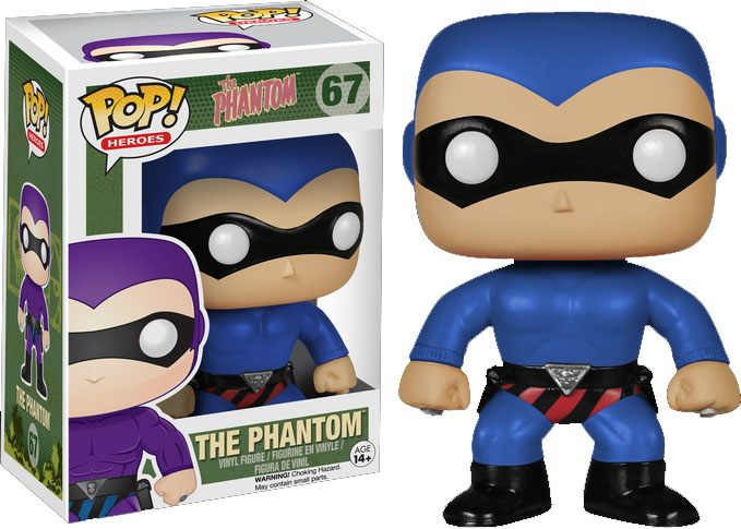 The Phantom POP! Heroes Vinyl Figure The Phantom Blue Costume 10 cm