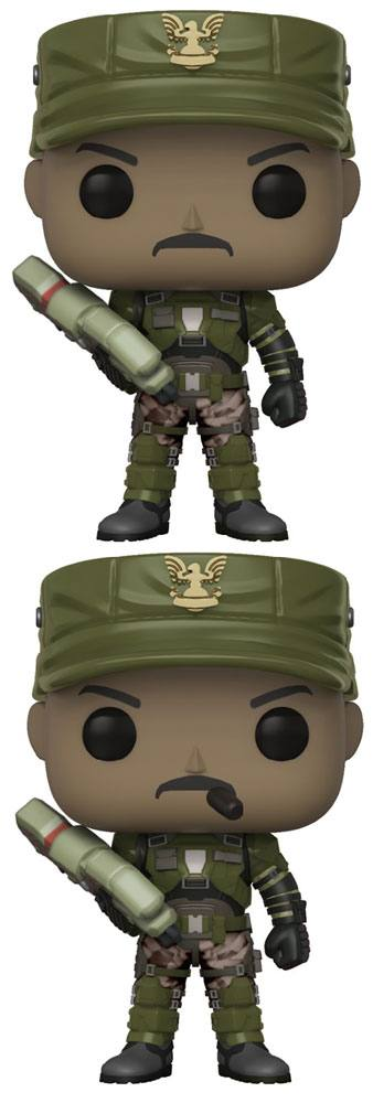 Halo POP! Games Vinyl Figures Sgt. Johnson 9 cm Assortment (6)