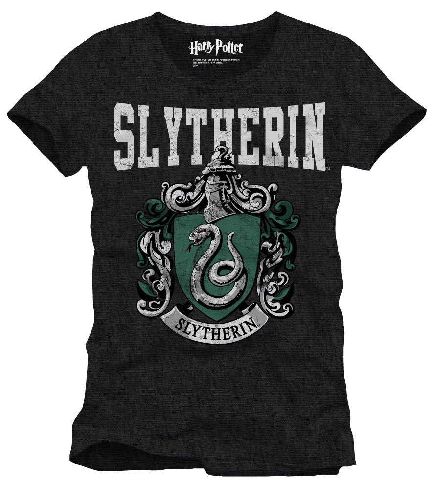 Harry Potter T-Shirt Slytherin Crest Size S