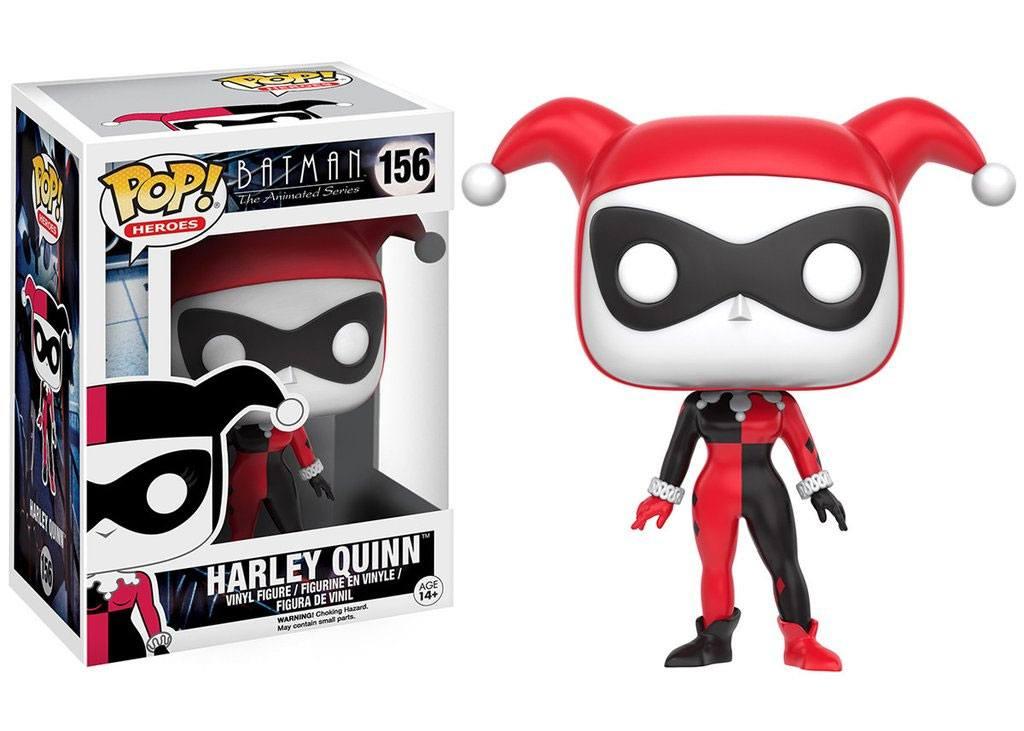 Batman The Animated Series POP! Heroes Figure Harley Quinn 9 cm