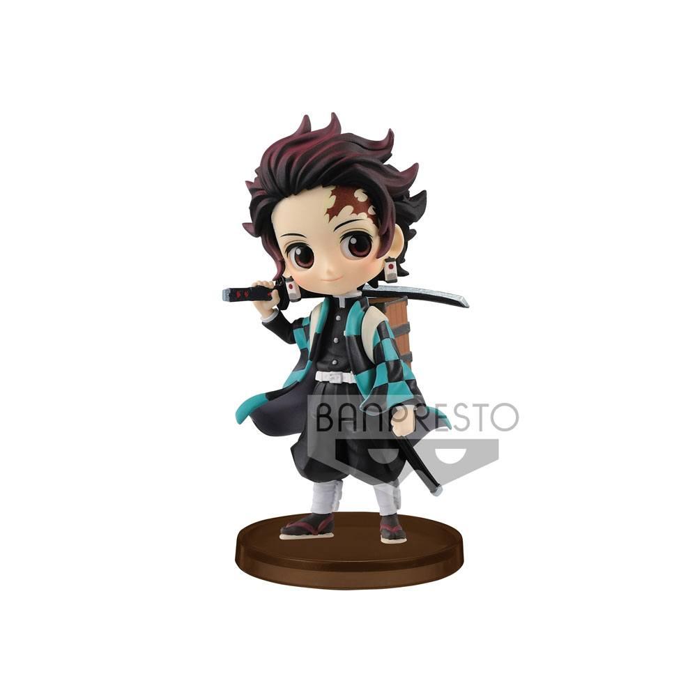 Demon Slayer Kimetsu no Yaiba Q Posket Petit Mini Figure Tanjiro Kamado Vol. 2 7 cm