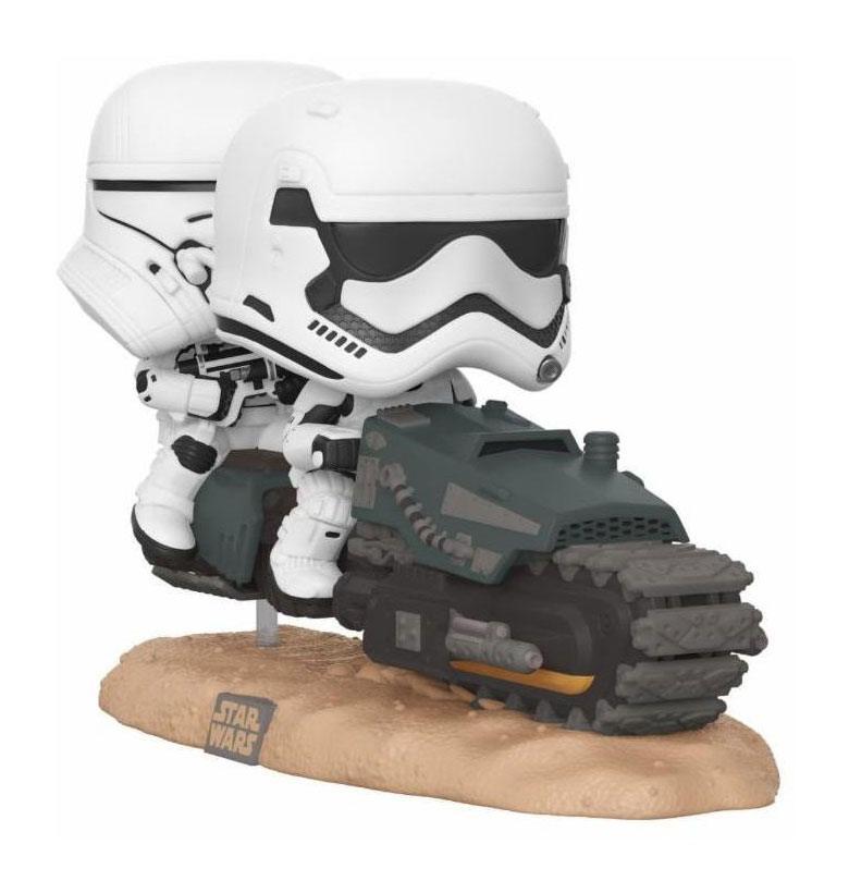 Star Wars Episode IX POP! Movie Moment Vinyl Figure First Order Tread Speeder 9 cm
