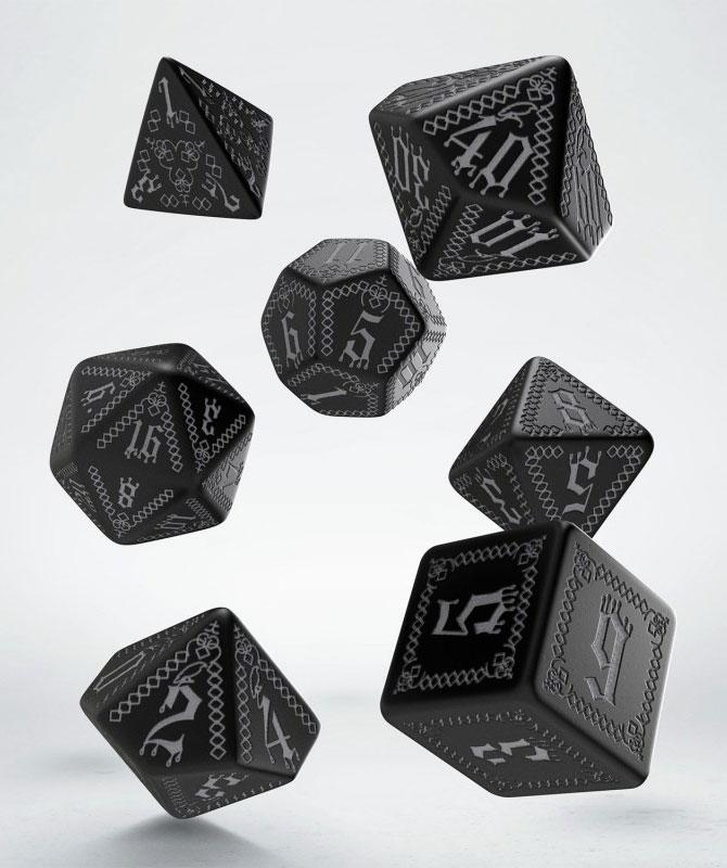 Pathfinder Dice Set Carrion Crown (7)