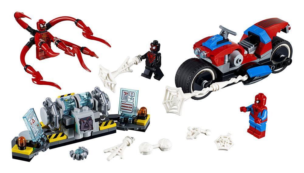 LEGO® Marvel Super Heroes™ Spider-Man Bike Rescue