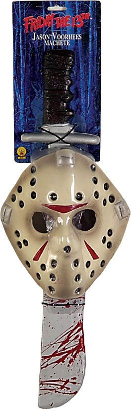 Friday the 13th Foam Mask Jason