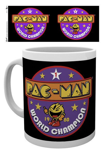 Pac-Man Mug World Champion