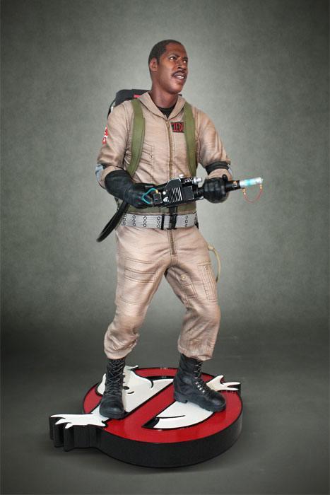 Ghostbusters Statue 1/4 Winston Zeddemore 48 cm
