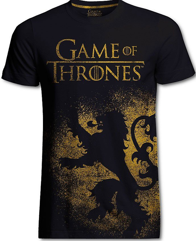 Game of Thrones T-Shirt Lannister Jumbo Print Size XL
