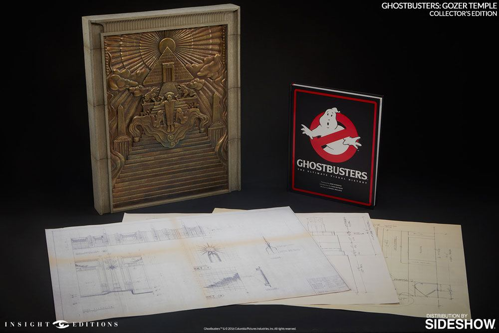 Ghostbusters Replica Gozer Temple & Book Collectors Edition