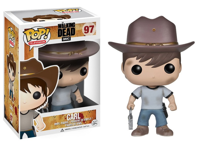 The Walking Dead POP! Vinyl Figure Carl 10 cm