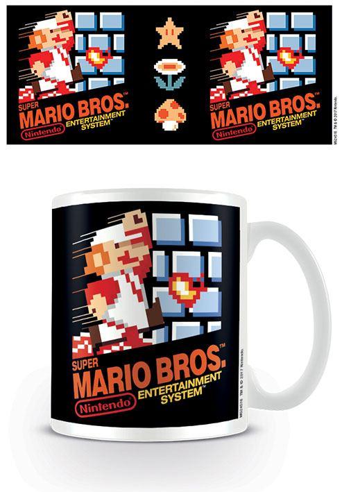Super Mario Bros. Mug NES Cover