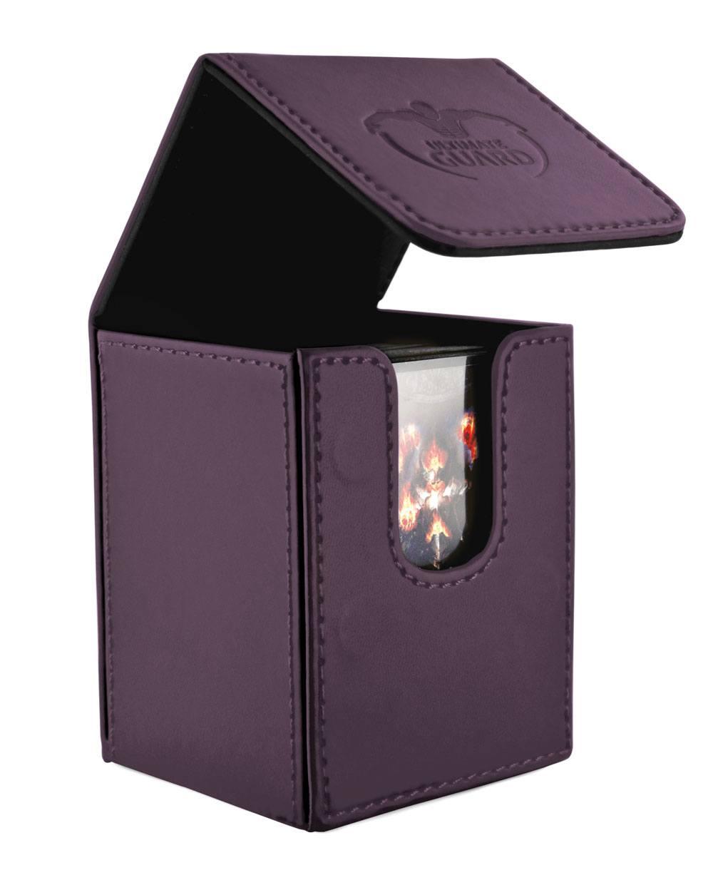 Ultimate Guard Flip Deck Case 100+ Standard Size Purple