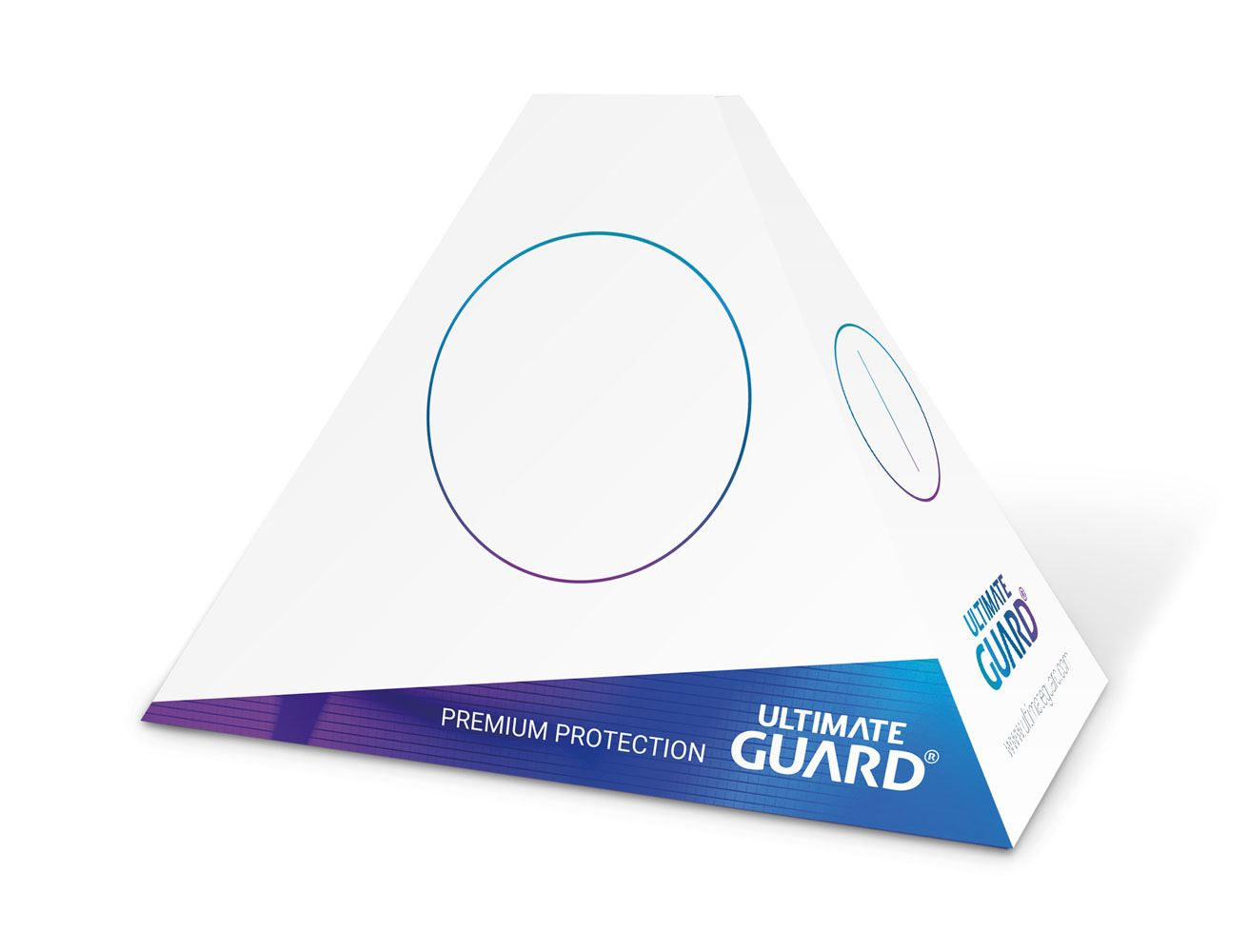 Ultimate Guard Table Tents Set (Blank Version) (50 pieces)