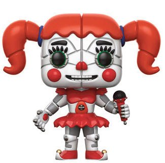Five Nights at Freddy's Sister Location POP! Games Vinyl Figure Baby 9 cm