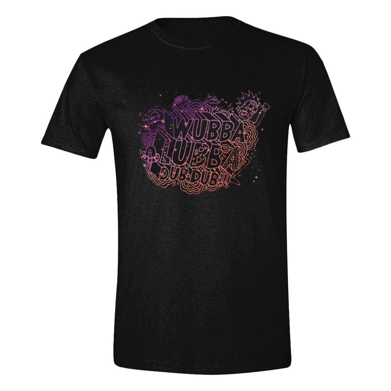 Rick & Morty T-Shirt Wubba Lubba Size XL
