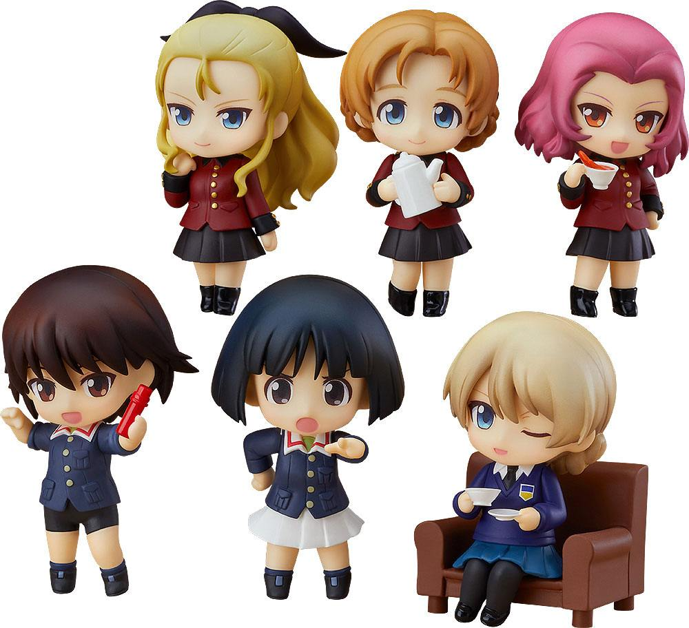 Girls und Panzer das Finale Mini Figures Nendoroid Petite 7 cm Display Series 03 (6)