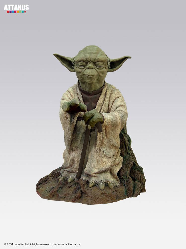 Star Wars Episode V Elite Collection Statue Yoda on Dagobah 23 cm