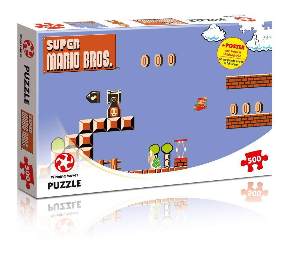 Super Mario Bros. Jigsaw Puzzle High Jumper