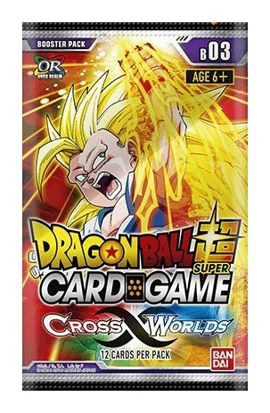 Dragonball Super Card Game Season 3 Booster Display Cross Worlds (24) *English Version*
