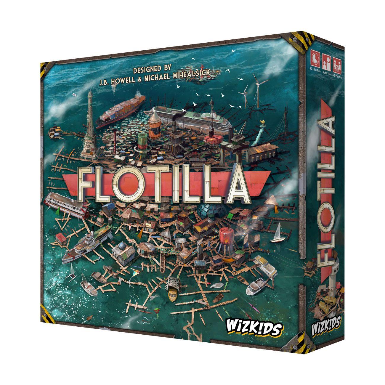 Flotilla Board Game *English Version*