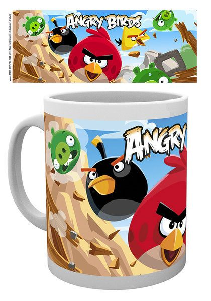 Angry Birds Mug Destroy