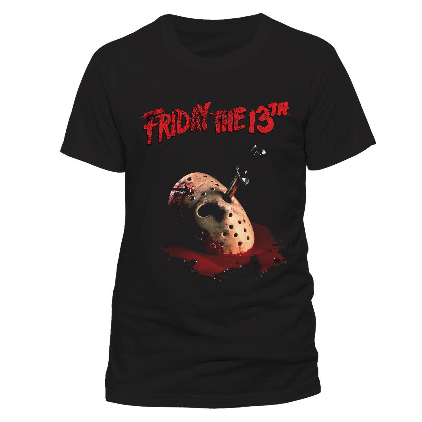 Friday the 13th T-Shirt Dagger Size XL