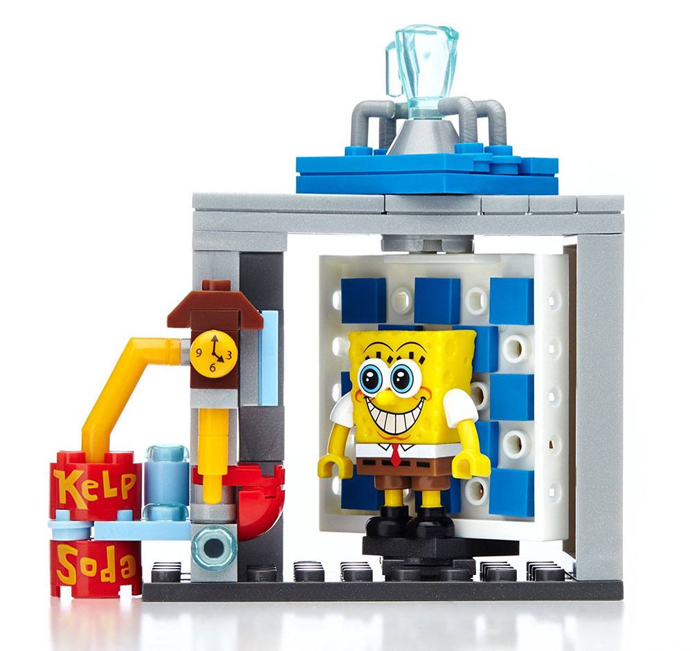 SpongeBob SquarePants Mega Bloks Construction Set Photo Booth Time Machine