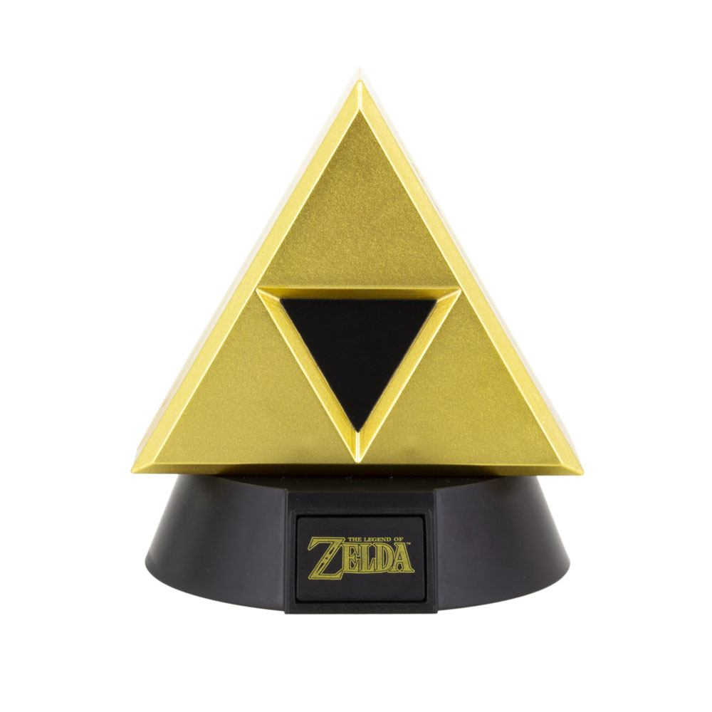 The Legend of Zelda 3D Icon Light Gold Triforce 10 cm