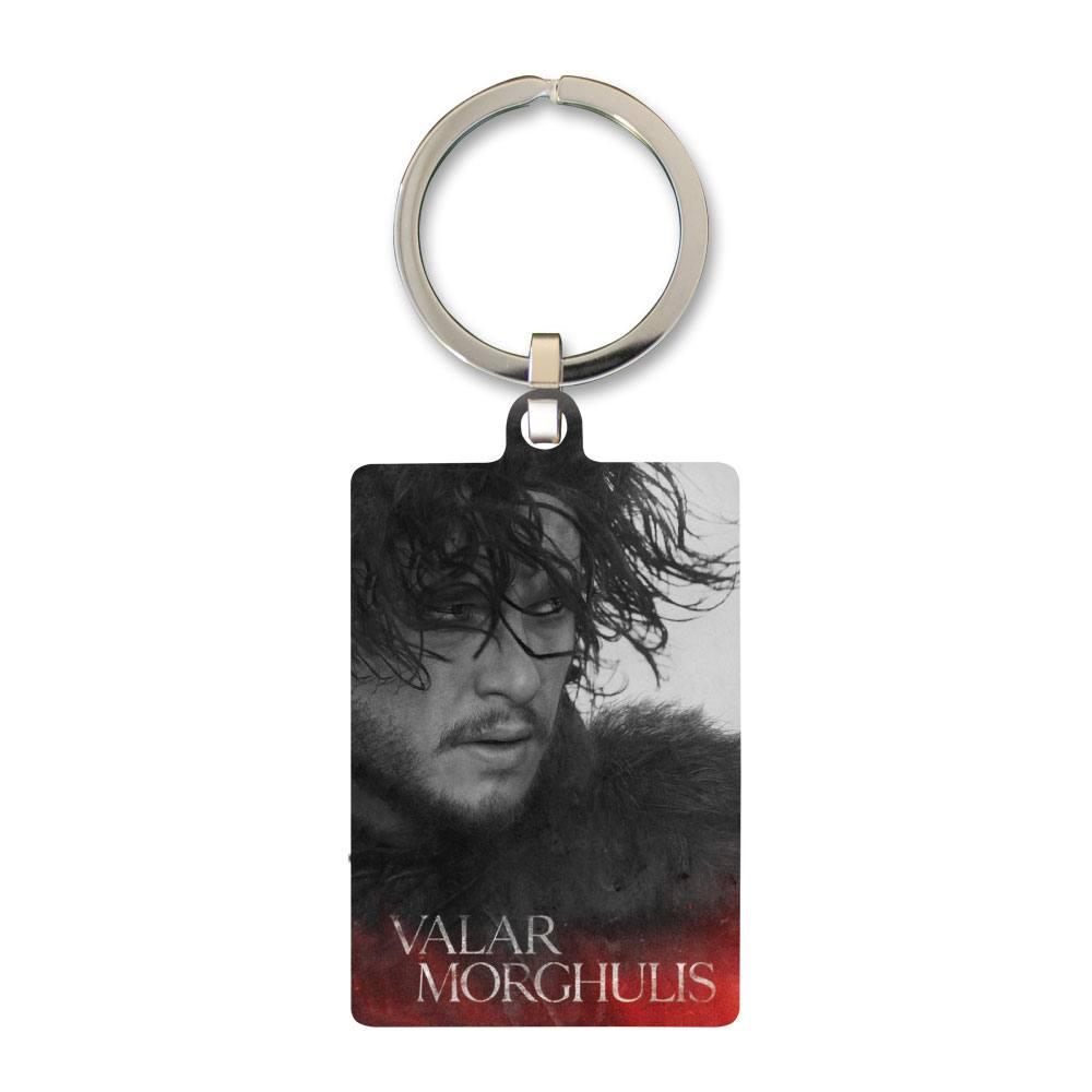 Game of Thrones Metal Keychain Jon Snow 6 cm