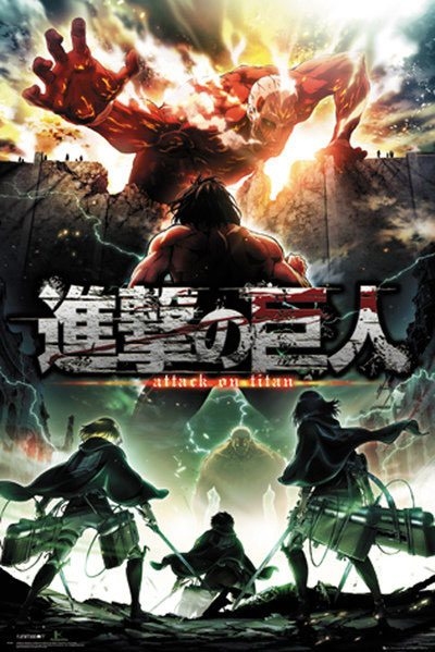 Attack on Titan Season 2 Poster Pack Key Art 61 x 91 cm (5)