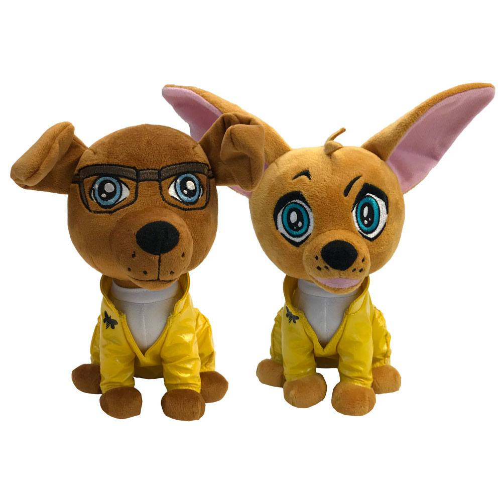 Breaking Bad Pawzplay Plush Figures 2-Pack 2018 SDCC Exclusive 20 cm