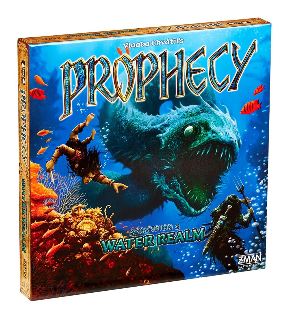 Prophecy Board Game Expansion Water Realm *English Version*