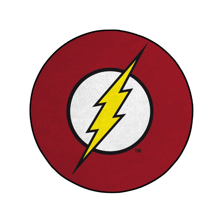 DC Comics Carpet Flash Logo 80 cm