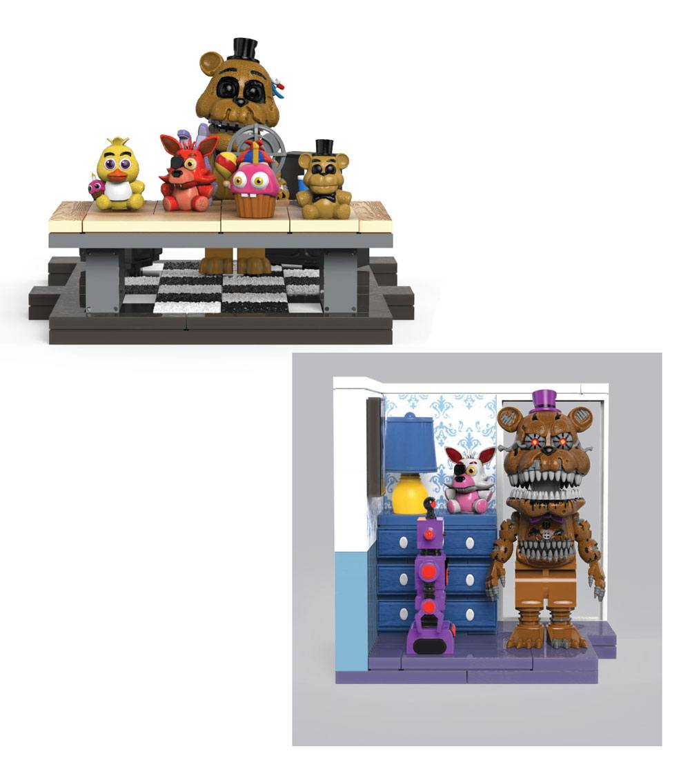 Five Nights at Freddy's Small Construction Set Wave 5 Assortment (6)