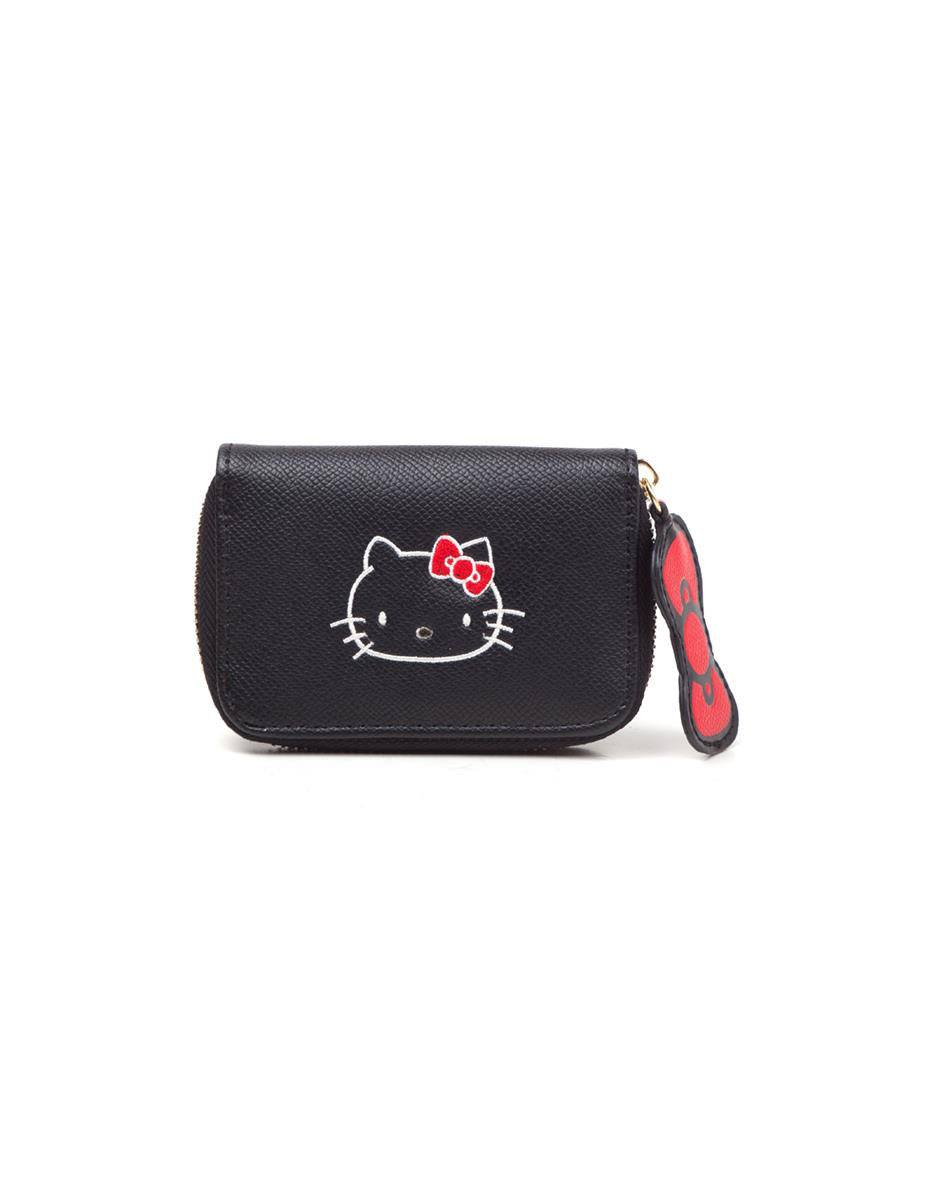 Hello Kitty Ladies Coin Purse Black Kitty