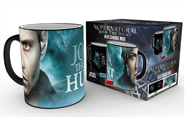Supernatural Heat Change Mug Sam & Dean Symbol
