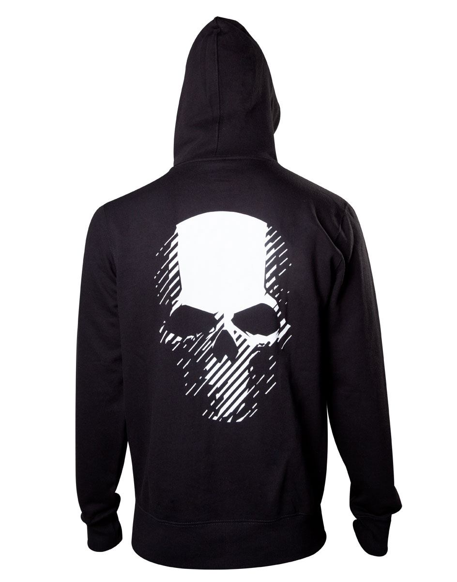 Ghost Recon Wildlands Hooded Sweater Skull Size XXL