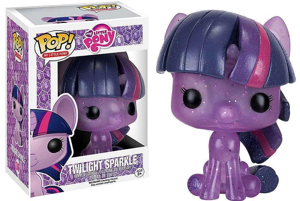 My Little Pony POP! Vinyl Figure Twilight Sparkle (Glitter) 9 cm