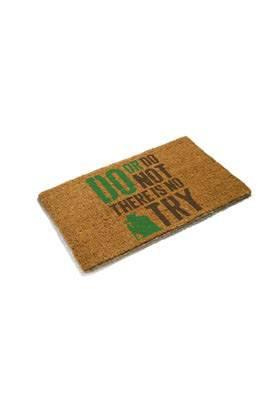 Star Wars Doormat Yoda No Try 43 x 72 cm