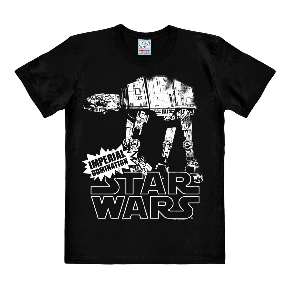 Star Wars T-Shirt AT-AT Size L