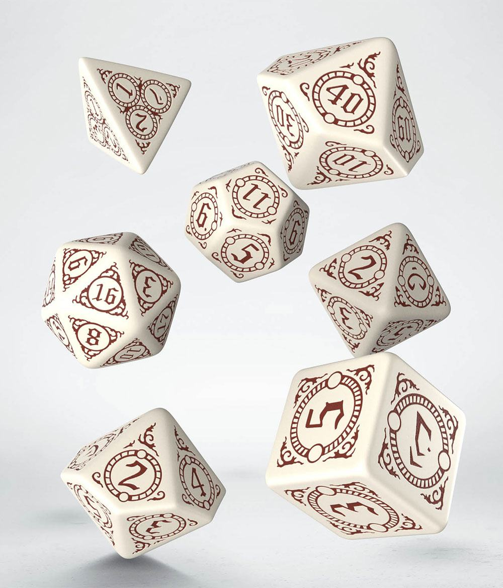 Pathfinder Playtest Dice Set Return of the Runelords (7)