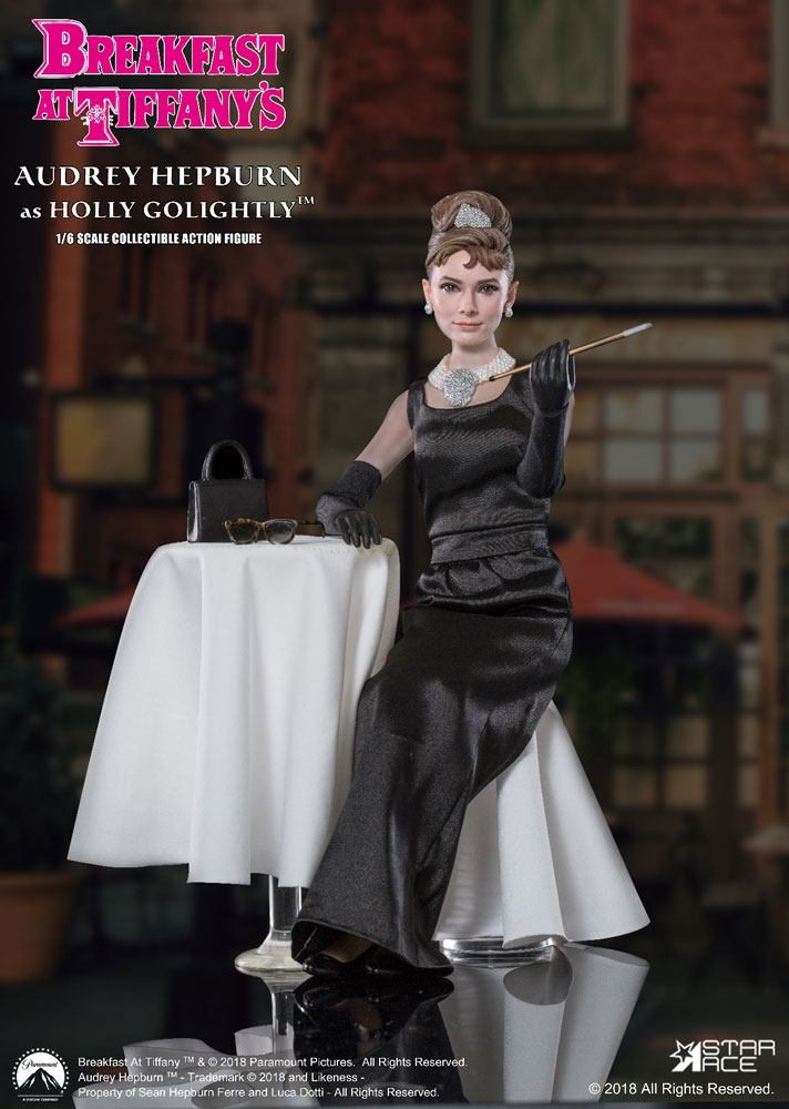 Breakfast at Tiffany's MFL Action Figure 1/6 Holly Golightly (Audrey Hepburn) 2.0 Deluxe Ver. 29 cm