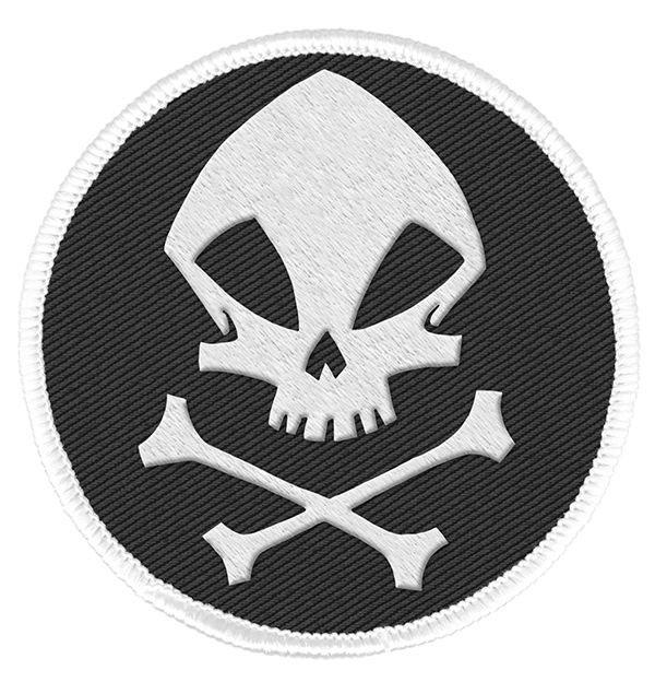 The Umbrella Academy Patch The Kraken Skull Logo 6 cm