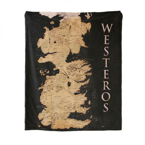 Game of Thrones Throw Westeros 125 x 150 cm
