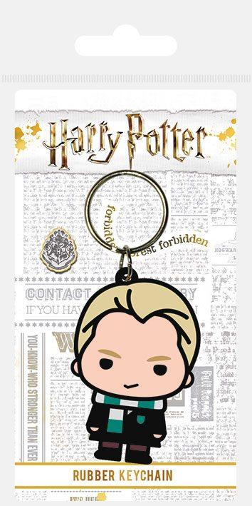 Harry Potter Rubber Keychain Chibi Malfoy 6 cm