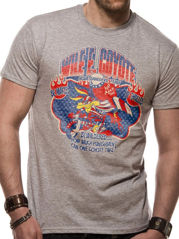 Looney Tunes T-Shirt Wile E Coyote Size M