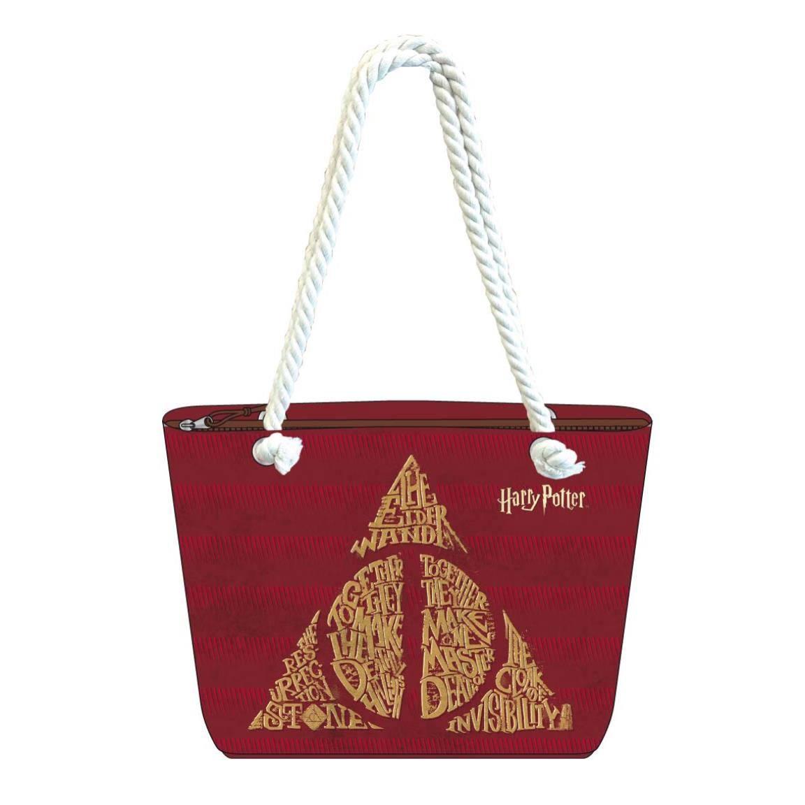 Harry Potter Beach Bag Deathly Hallows