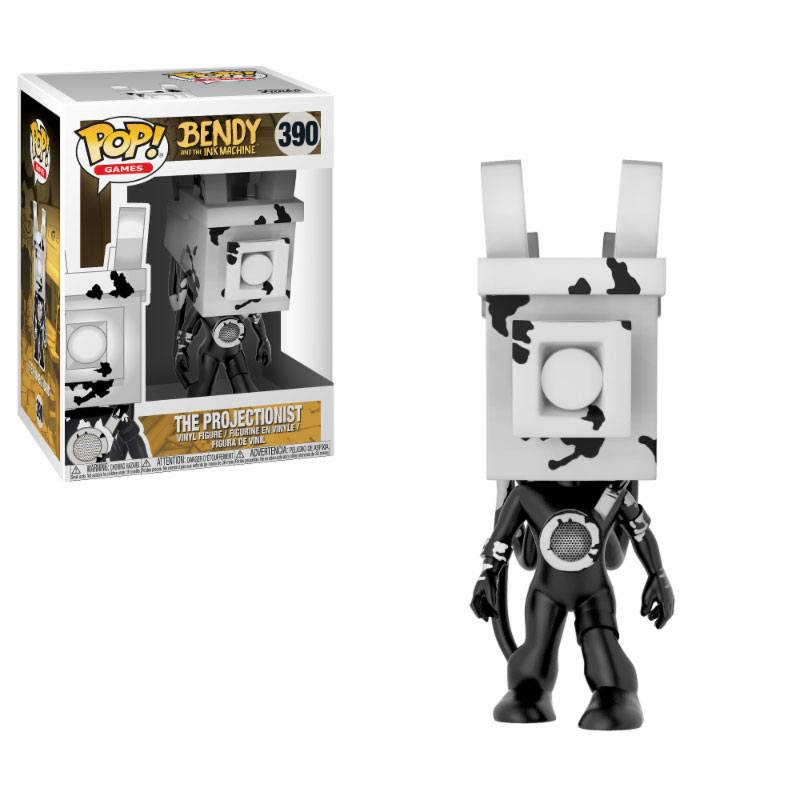 Bendy and the Ink Machine POP! Games Vinyl Figure The Projectionist 9 cm