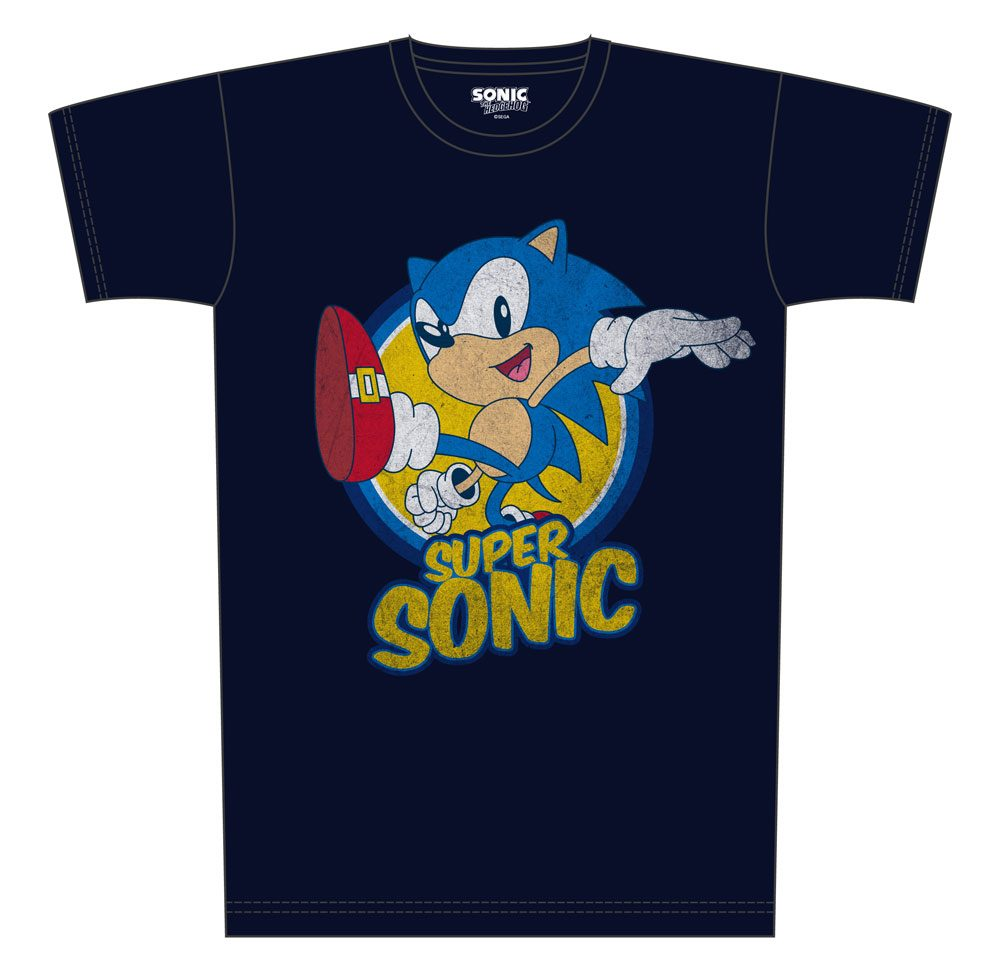 Sonic T-Shirt Super Sonic Size S