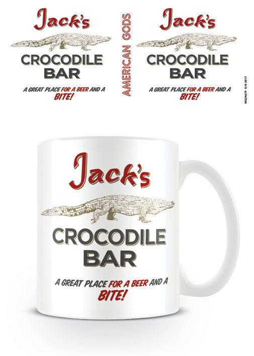 American Gods Mug Crocodile Bar